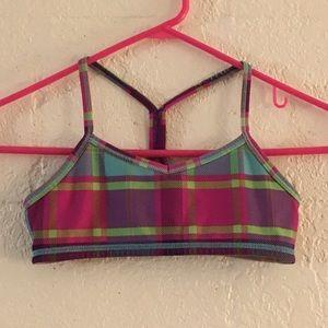 Girls Size 8 Ivivva Dance Bra Top EXC COND